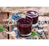 Frozen Blueberries Pulp